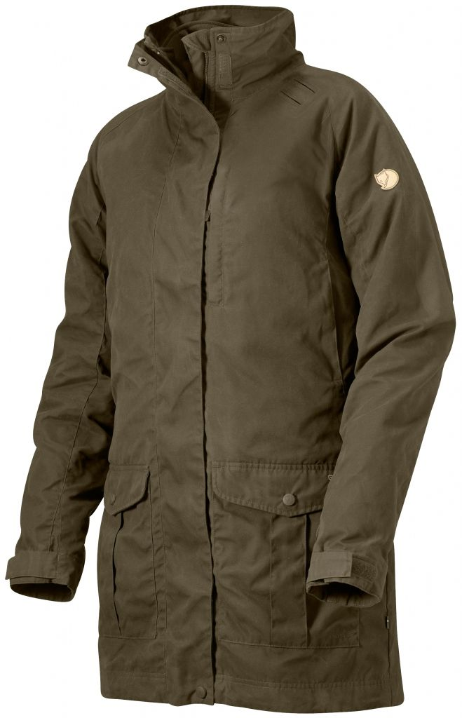FjallRaven Vilt Jacket Dark Olive-30