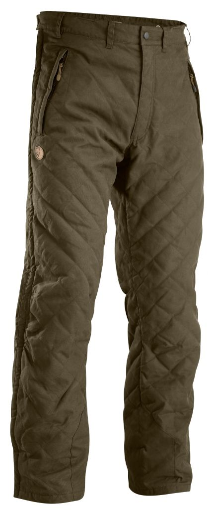 FjallRaven Forest Padded Trousers Dark Olive-30