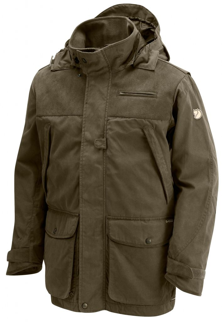 FjallRaven Boar Jacket Dark Olive-30