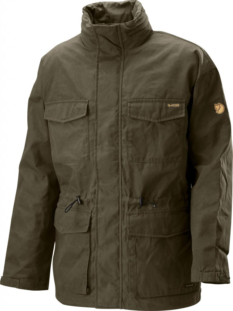 FjallRaven Hunter Hydratic Jacket Dark Olive-30