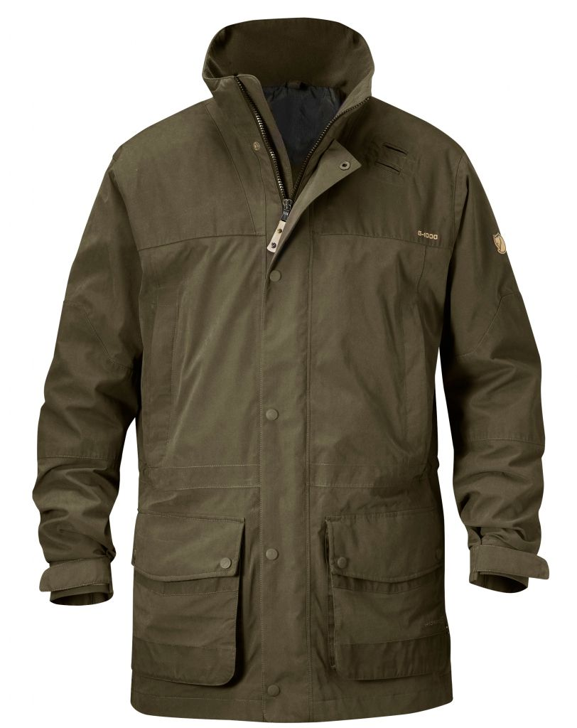 FjallRaven Timber Buck Jacket Dark Olive-30