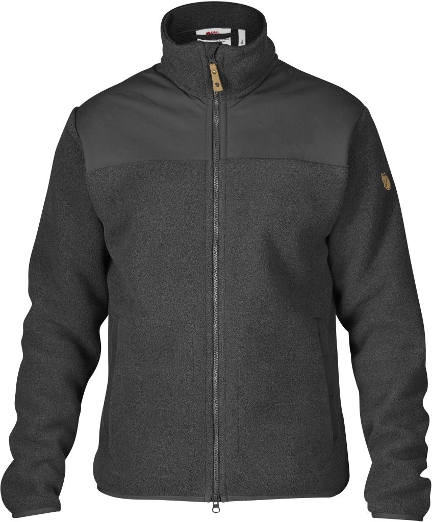 FjallRaven Forest Fleece Jacket Dark Grey-30