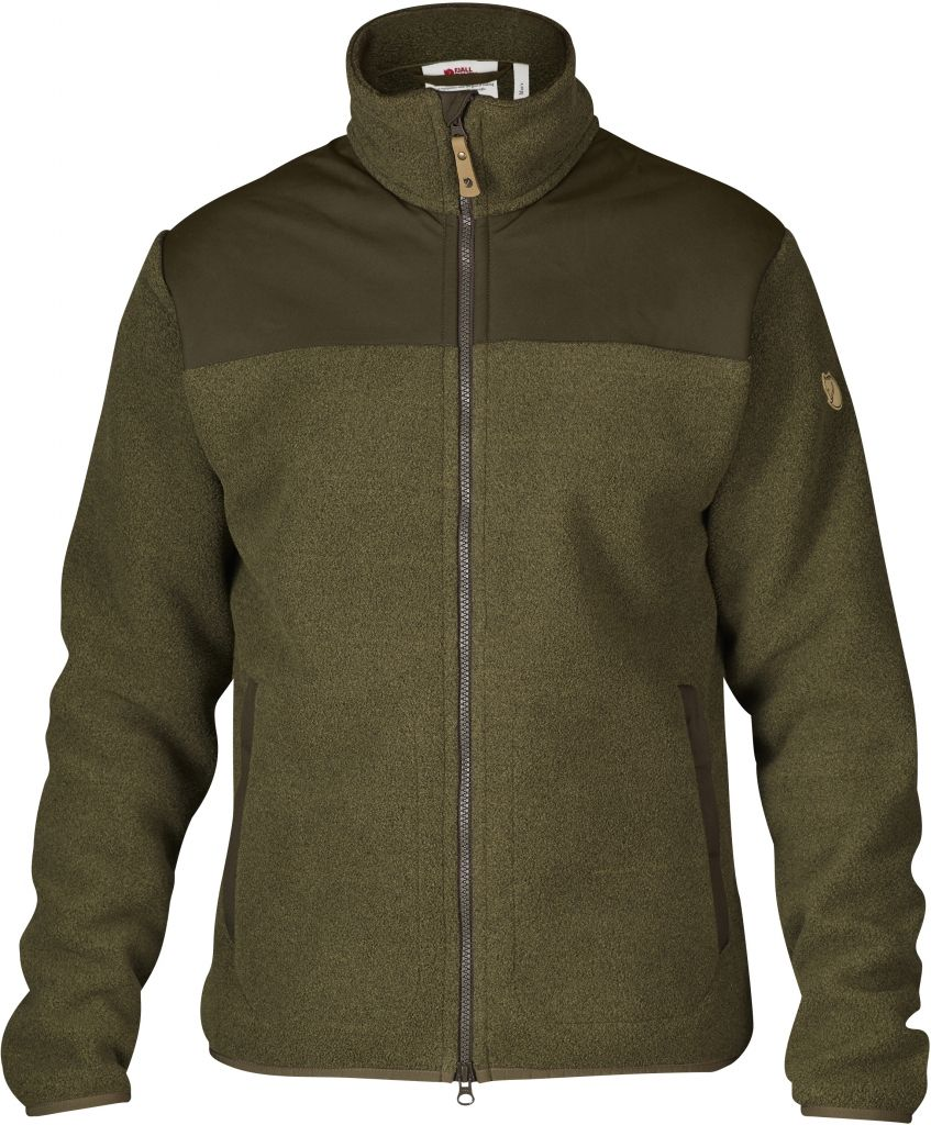 FjallRaven Forest Fleece Jacket Dark Olive-30