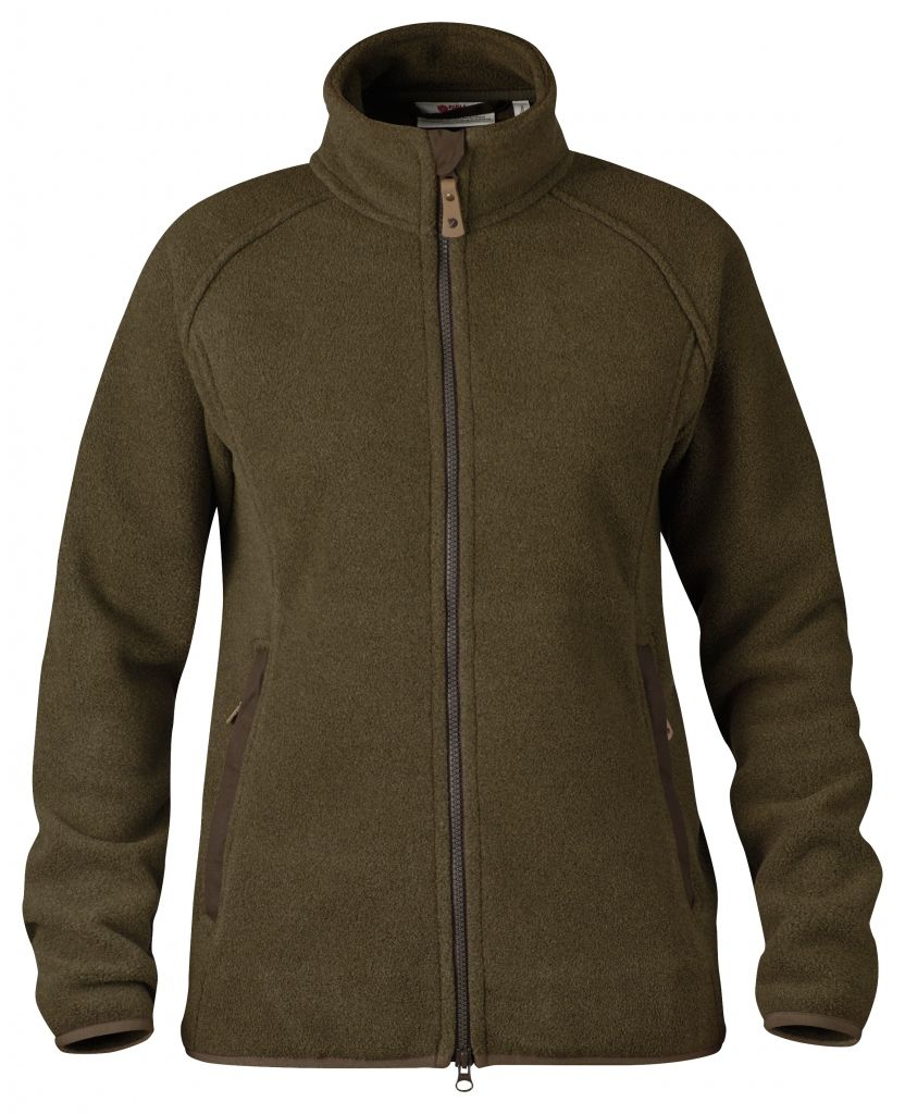 FjallRaven Forest Fleece Jacket W. Dark Olive-30