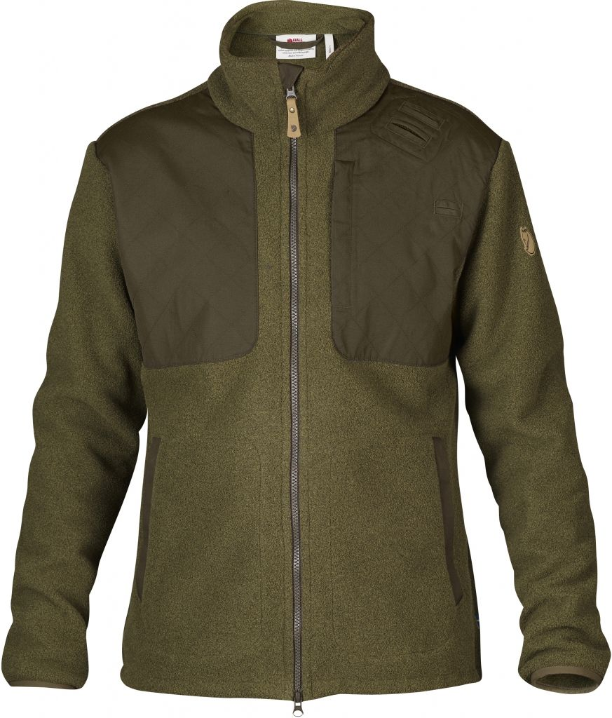 FjallRaven Forest Stormblocker Jacket Dark Olive-30