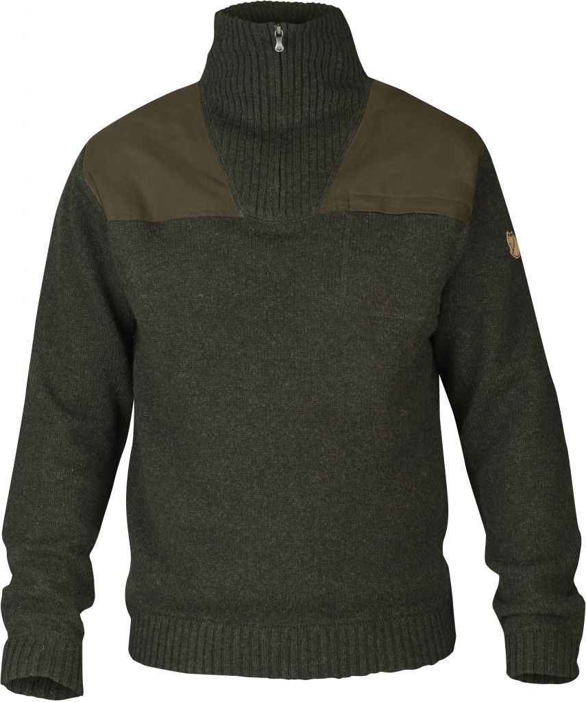 FjallRaven Älg Sweater Dark Olive-30