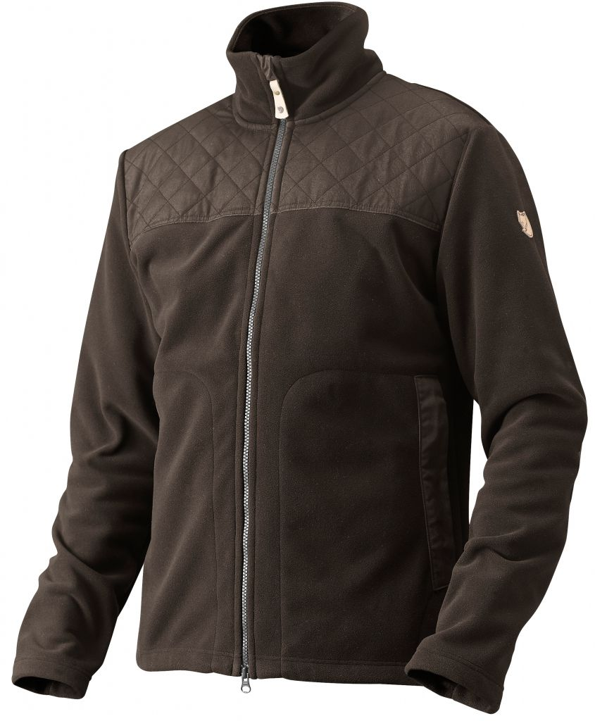 FjallRaven Rödräv Fleece Black Brown-30