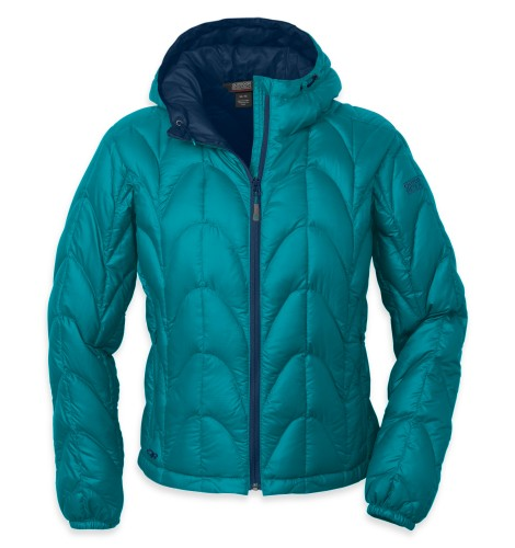 Outdoor Research Women´s Aria Hoody 148-ALPINE LAKE/ABYSS-30