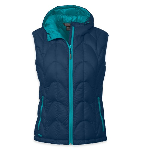 Outdoor Research Women´s Aris Vest Abyss/Alpine Lake-30