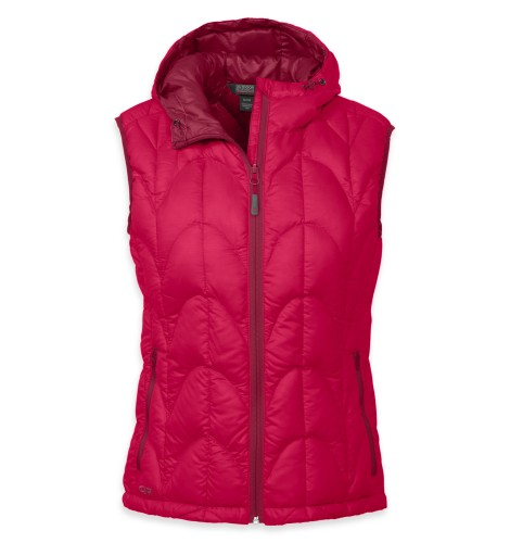 Outdoor Research Women´s Aris Vest Desert Sunrise/Mulberry-30