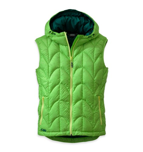 Outdoor Research Women´s Aris Vest Apple/Hemlock-30