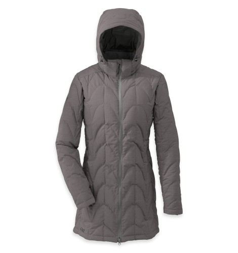 Outdoor Research Women´s Aris Storm Parka Pewter-30