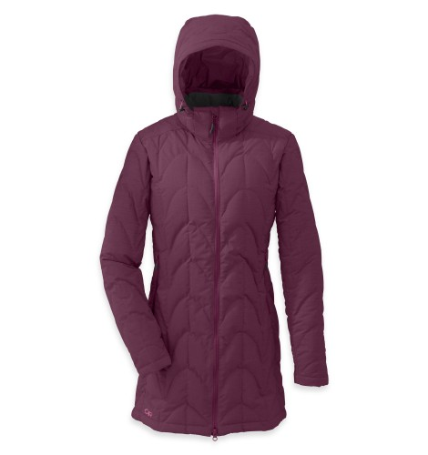 Outdoor Research Women´s Aris Storm Parka Orchid/Crocus-30