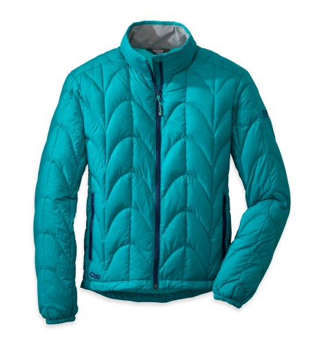 Outdoor Research Women´s Aria Jacket 46B-ALPINE LAKE/RIO-30
