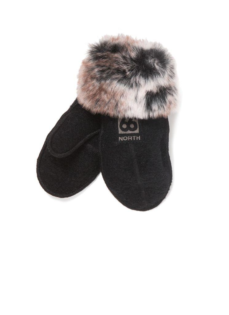 Kaldi Arctic Mittens W / Fur Black-30