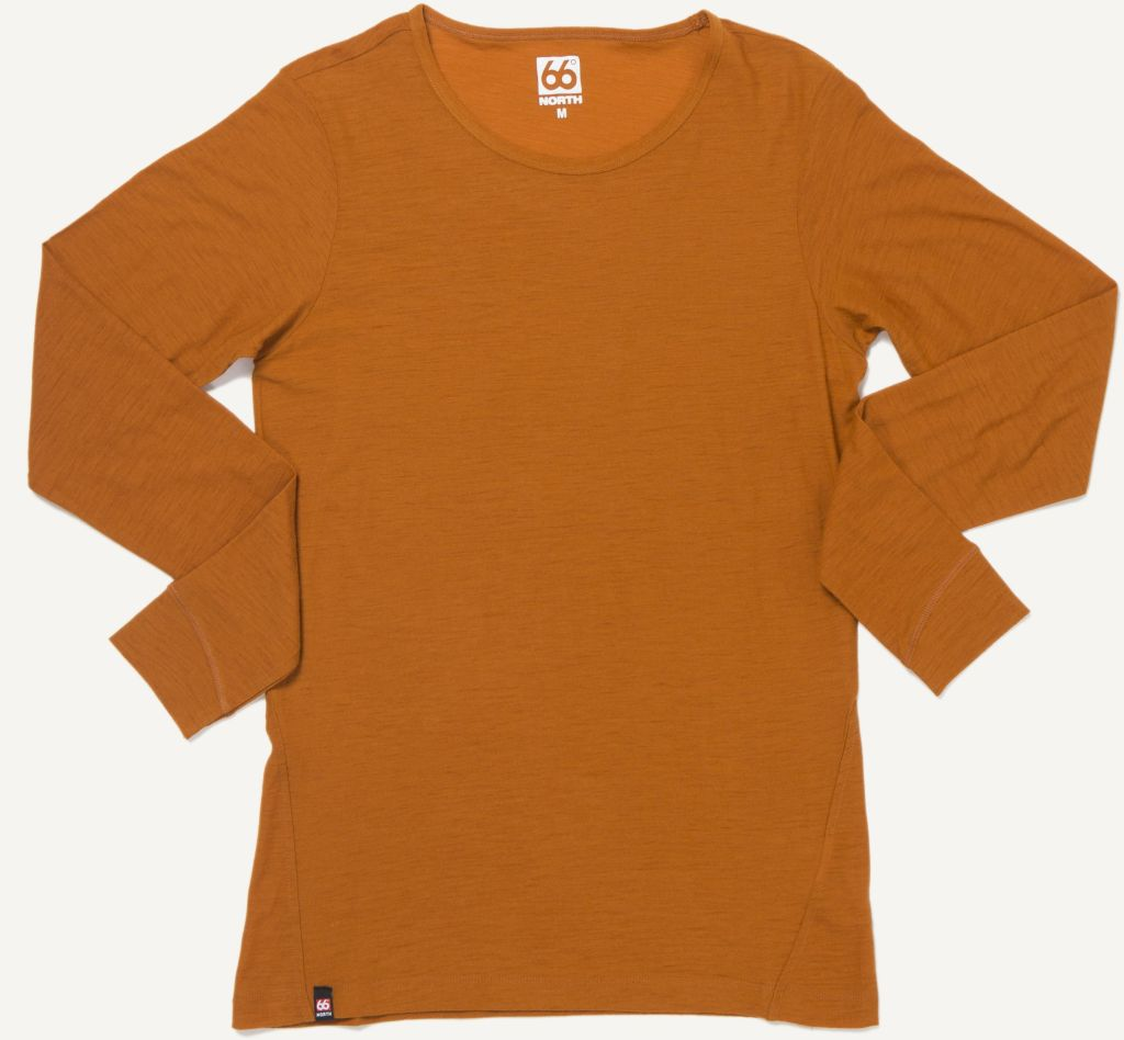 Skogar Women´s Long Sleeve Burnt Orange-30