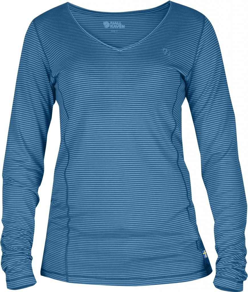 FjallRaven Abisko Cool Longsleeve W. Lake Blue-30