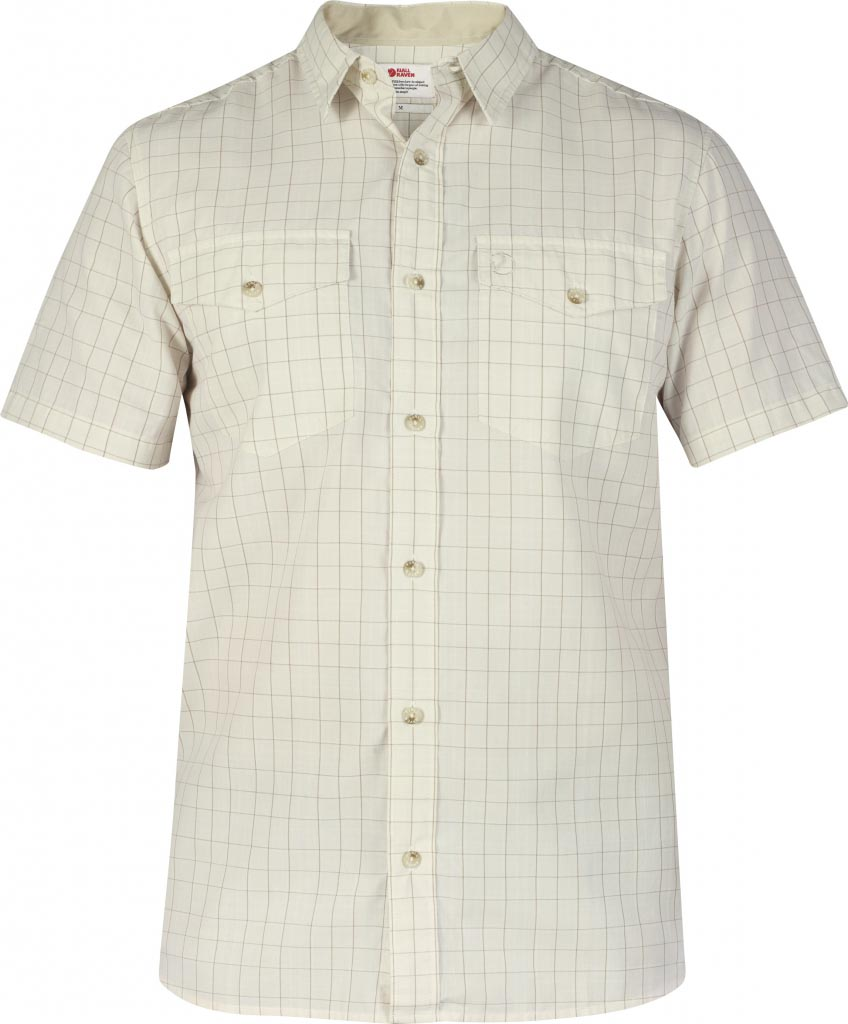 FjallRaven Abisko Cool Shirt SS Light Beige-30
