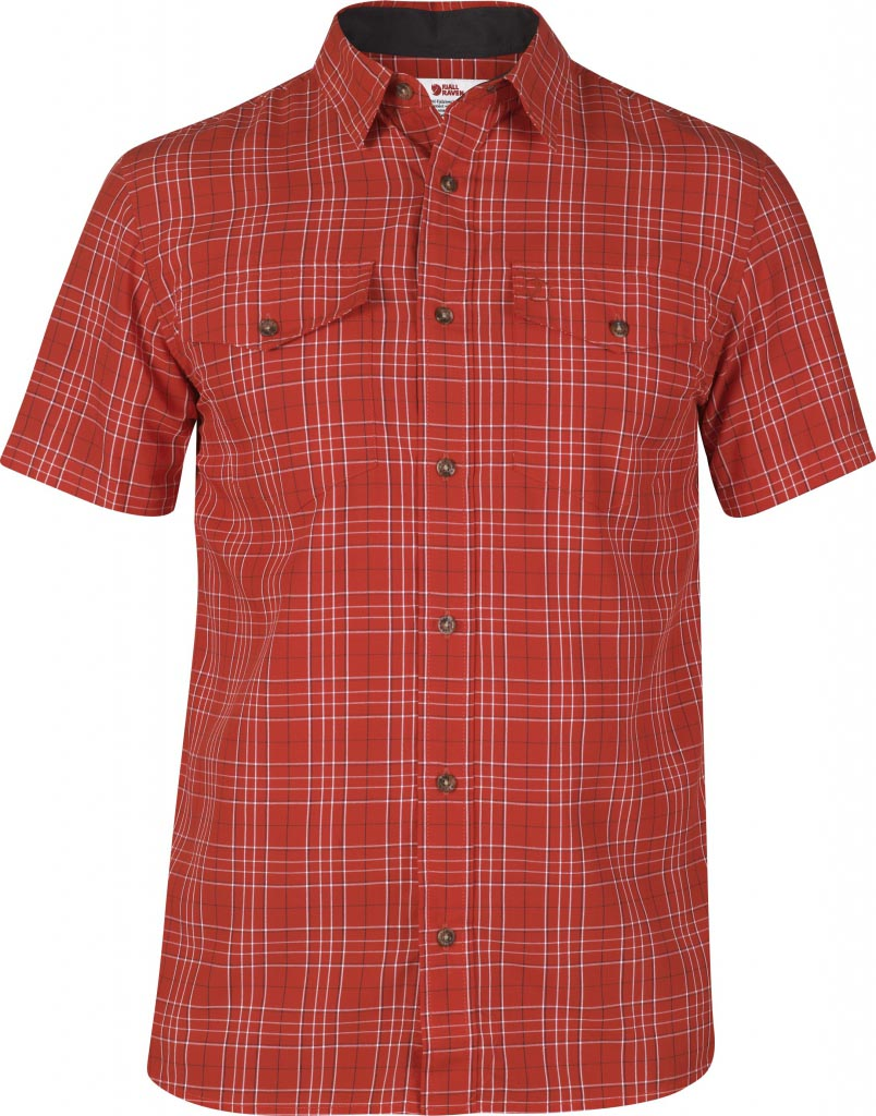 FjallRaven Abisko Cool Shirt SS Red-30