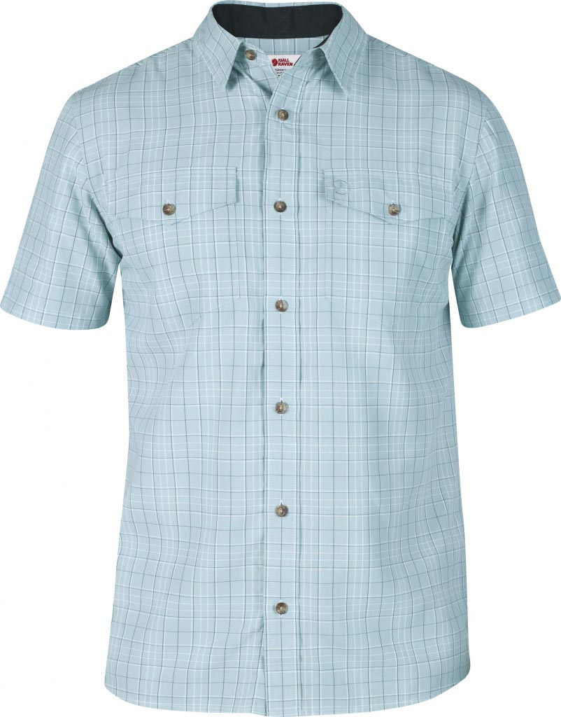 FjallRaven Abisko Cool Shirt SS Sky Blue-30