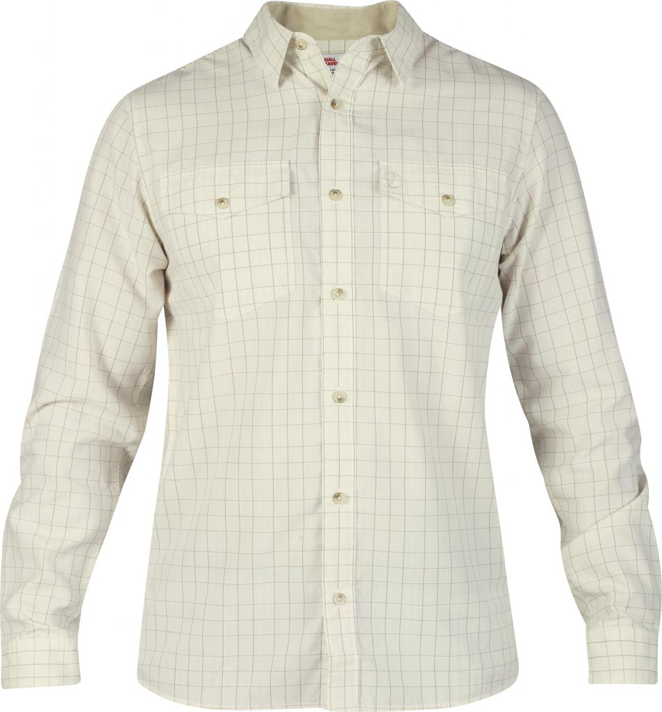 FjallRaven Abisko Cool Shirt LS Light Beige-30