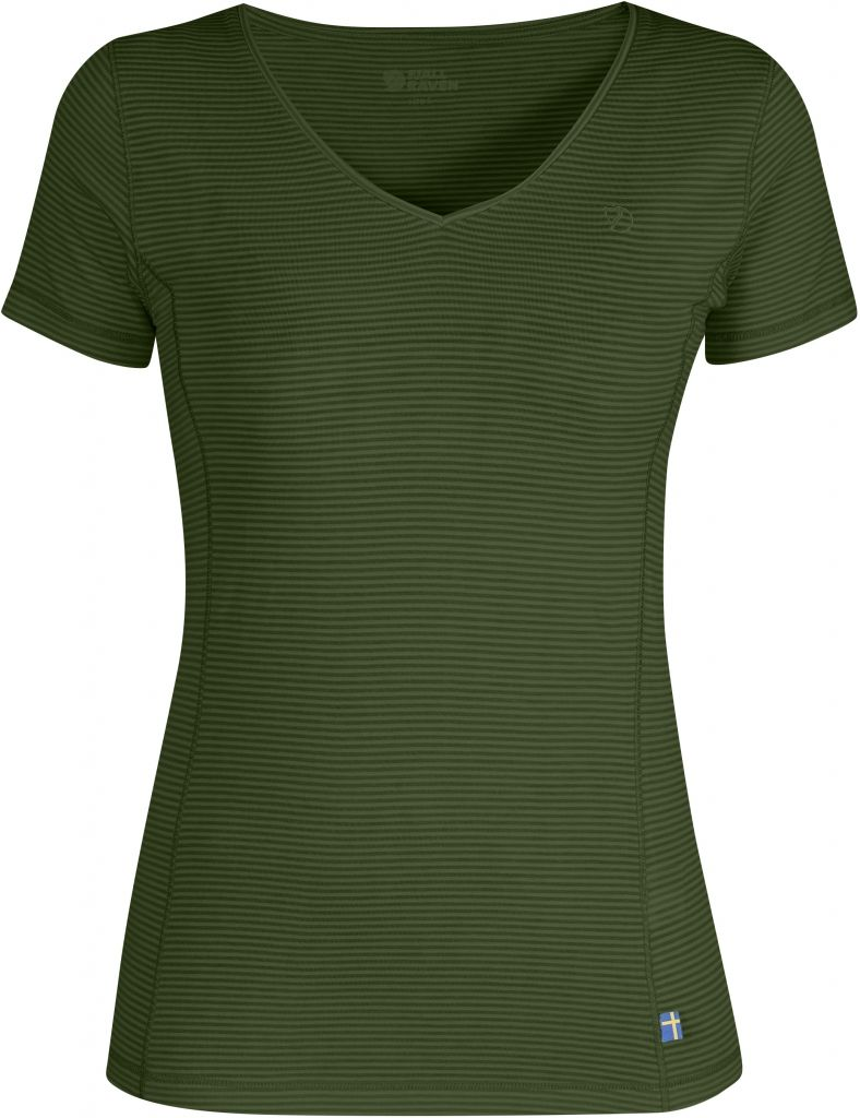 FjallRaven Abisko Cool T-Shirt W. Pine Green-30