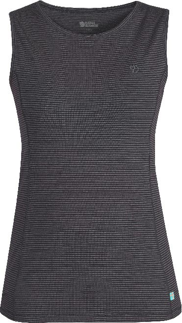 FjallRaven Abisko Cool Tank Top W. Dark Grey-30