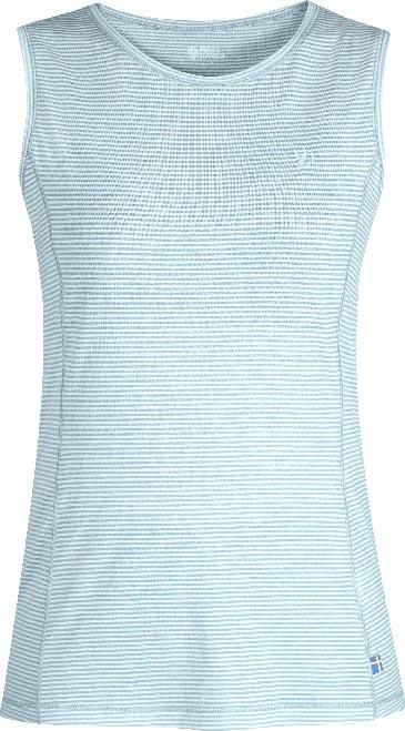 FjallRaven Abisko Cool Tank Top W. Sky Blue-30