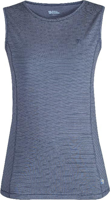 FjallRaven Abisko Cool Tank Top W. Uncle Blue-30