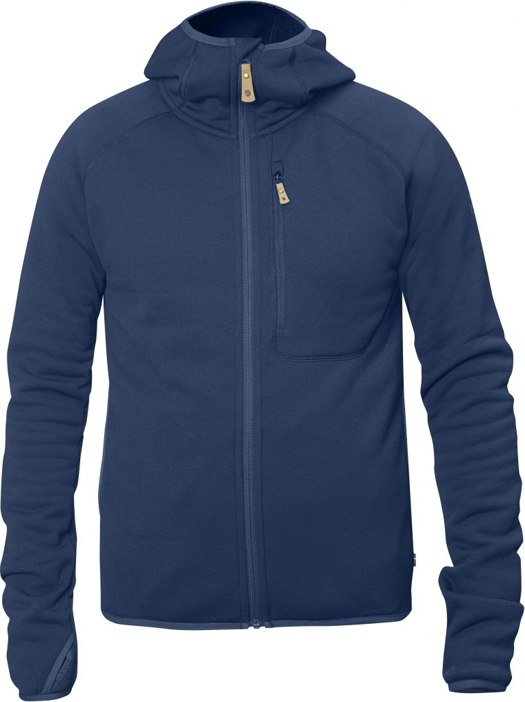 FjallRaven Abisko Fleece Hoodie Blueberry-30