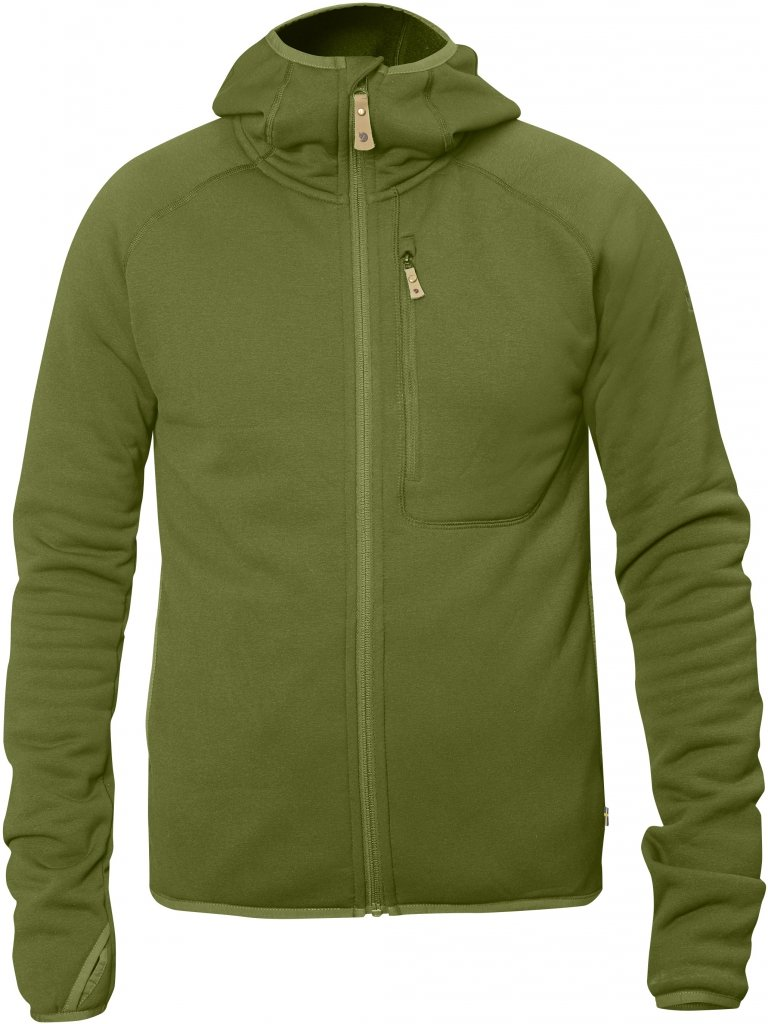 FjallRaven Abisko Fleece Hoodie Avocado-30