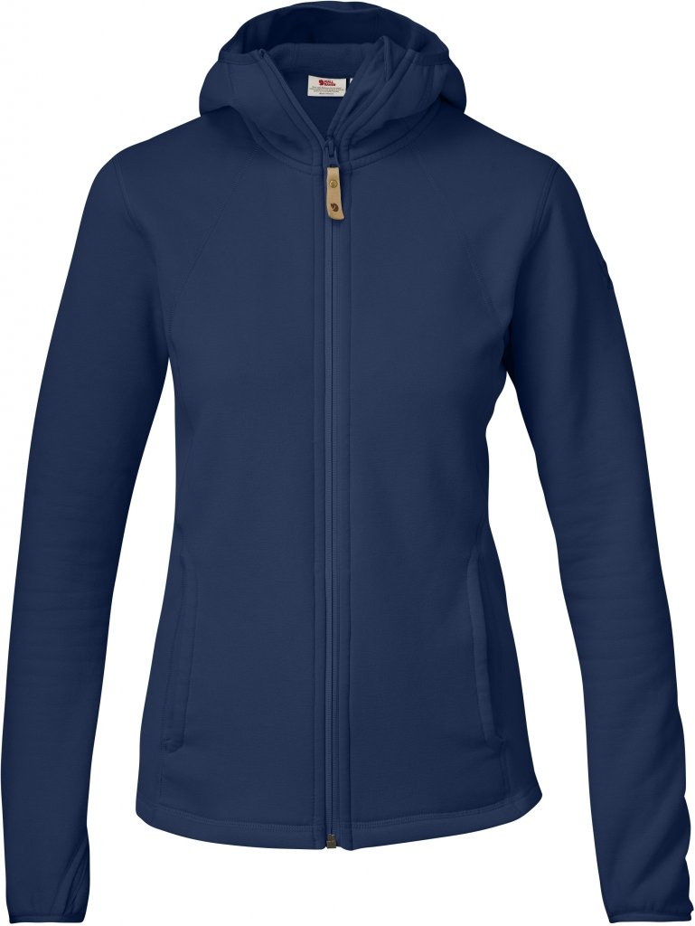 FjallRaven Abisko Fleece Hoodie W Blueberry-30