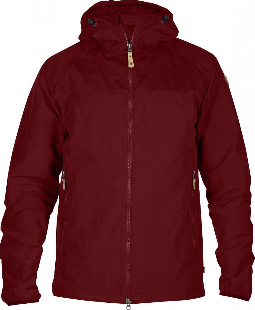 FjallRaven Abisko Hybrid Jacket Ox Red-30