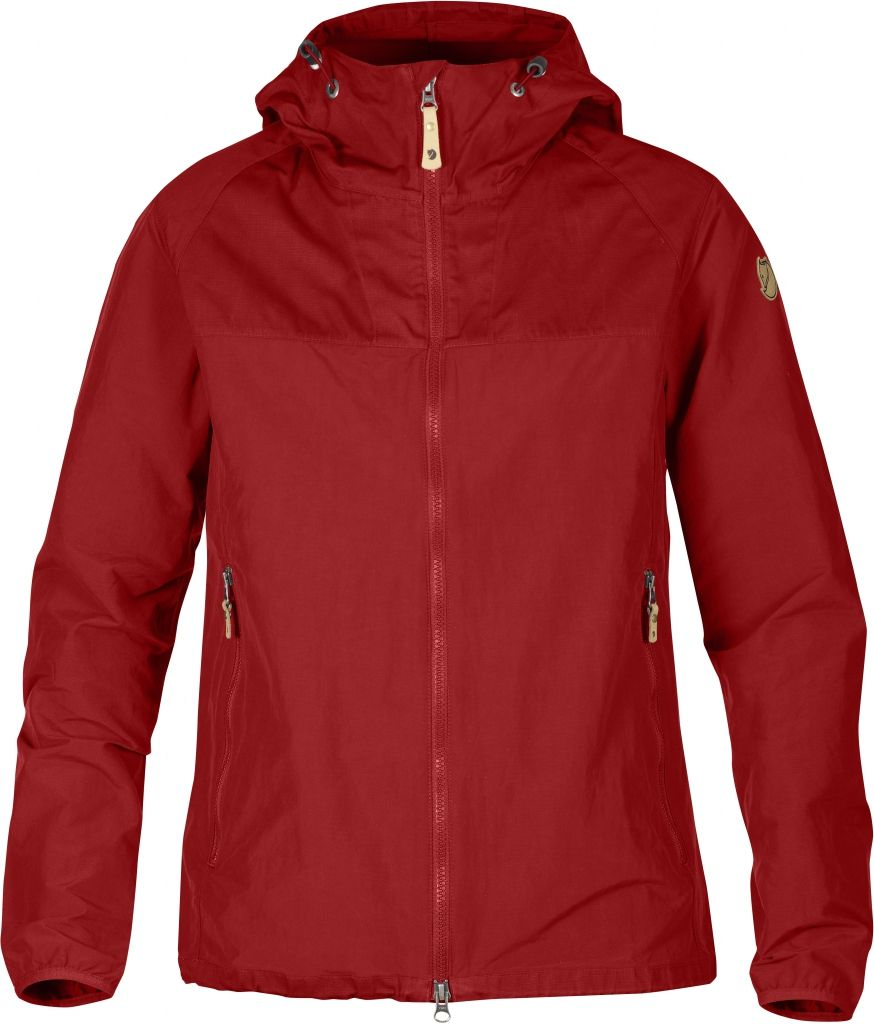 FjallRaven Abisko Hybrid Jacket W. Red-30