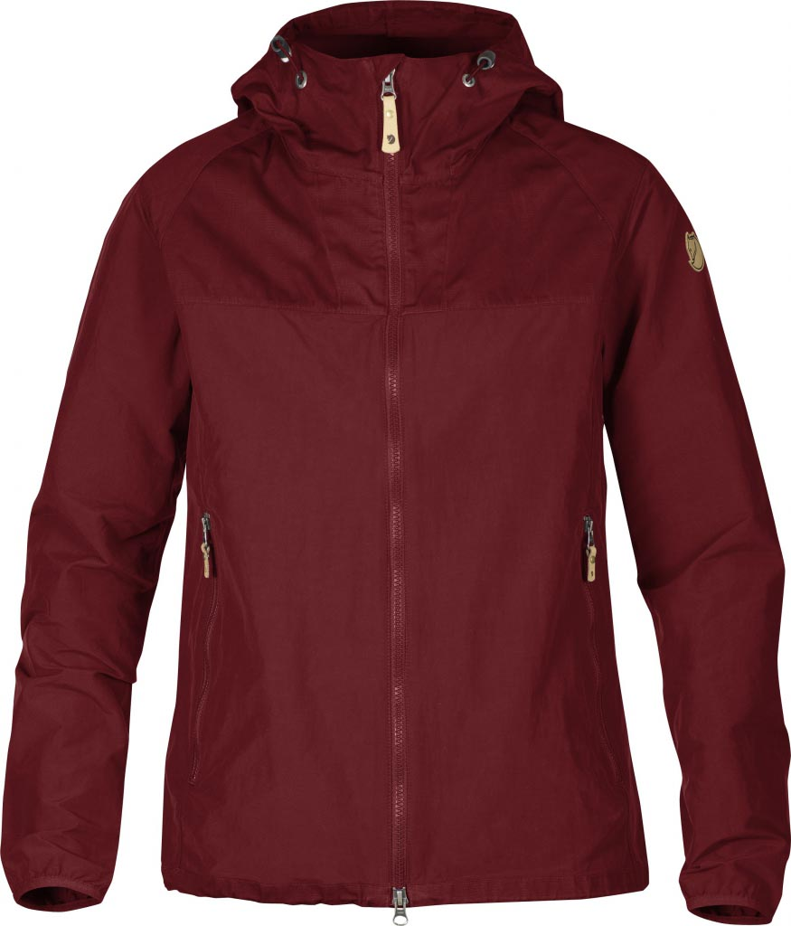 FjallRaven Abisko Hybrid Jacket W. Ox Red-30