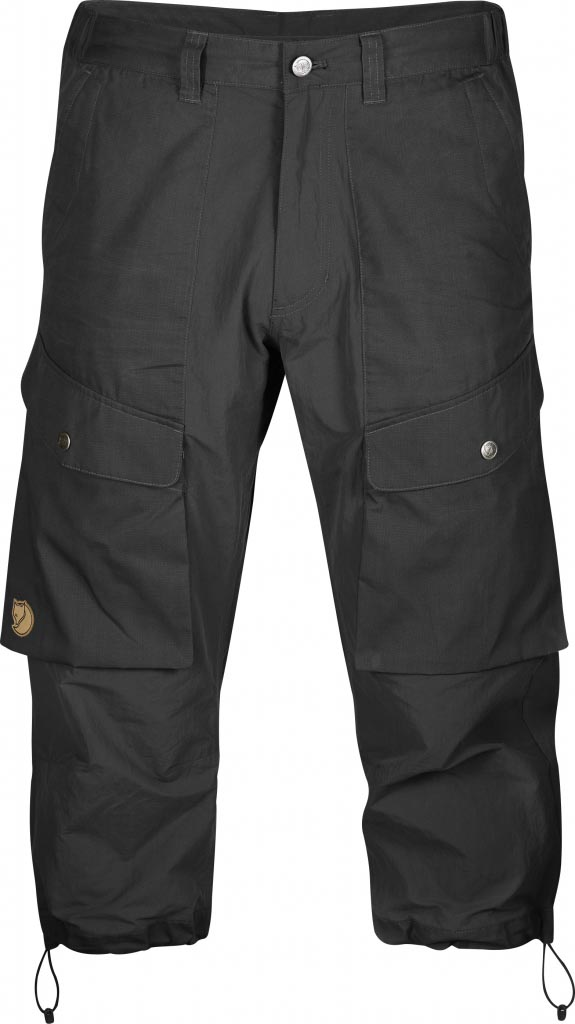 FjallRaven Abisko Hybrid Knickers Dark Grey-30