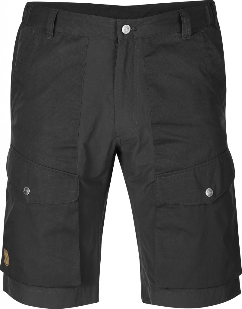 FjallRaven Abisko Hybrid Shorts Dark Grey-30