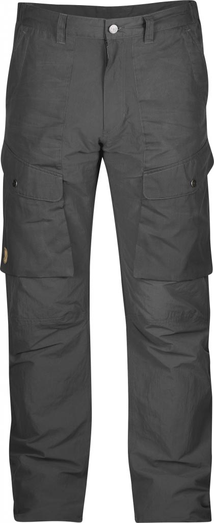 FjallRaven Abisko Hybrid Trousers Dark Grey-30