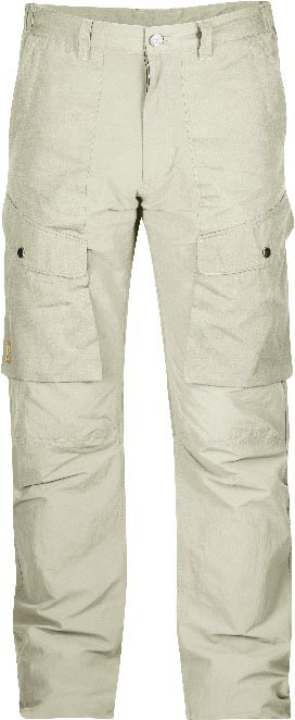 FjallRaven Abisko Hybrid Trousers Light Beige-30