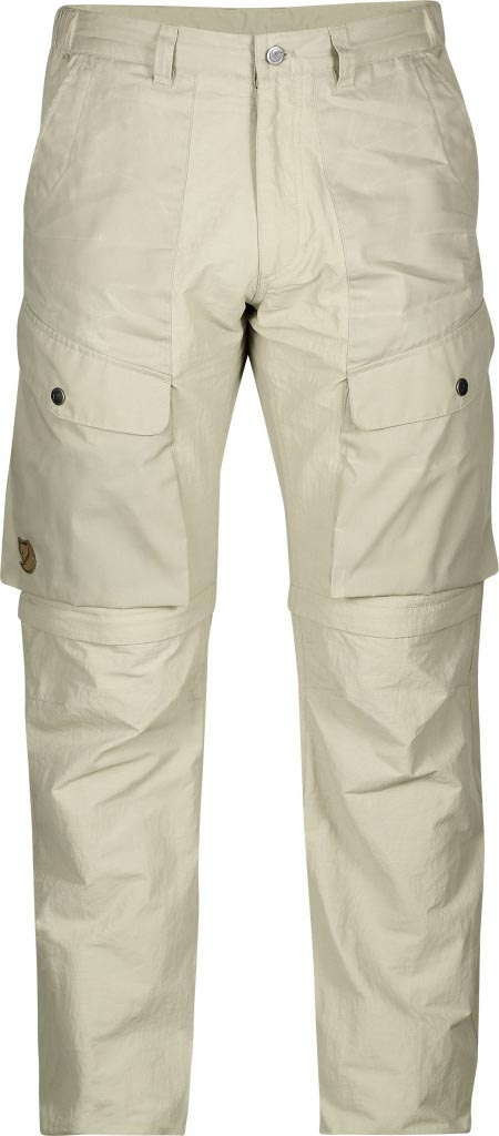 FjallRaven Abisko Hybrid Zip Off Trousers Light Beige-30