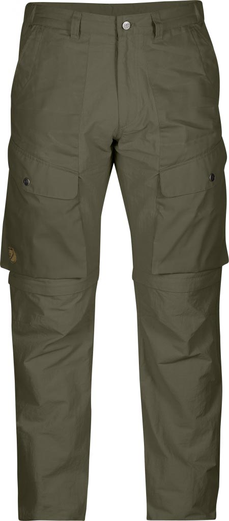FjallRaven Abisko Hybrid Zip Off Trousers Tarmac-30