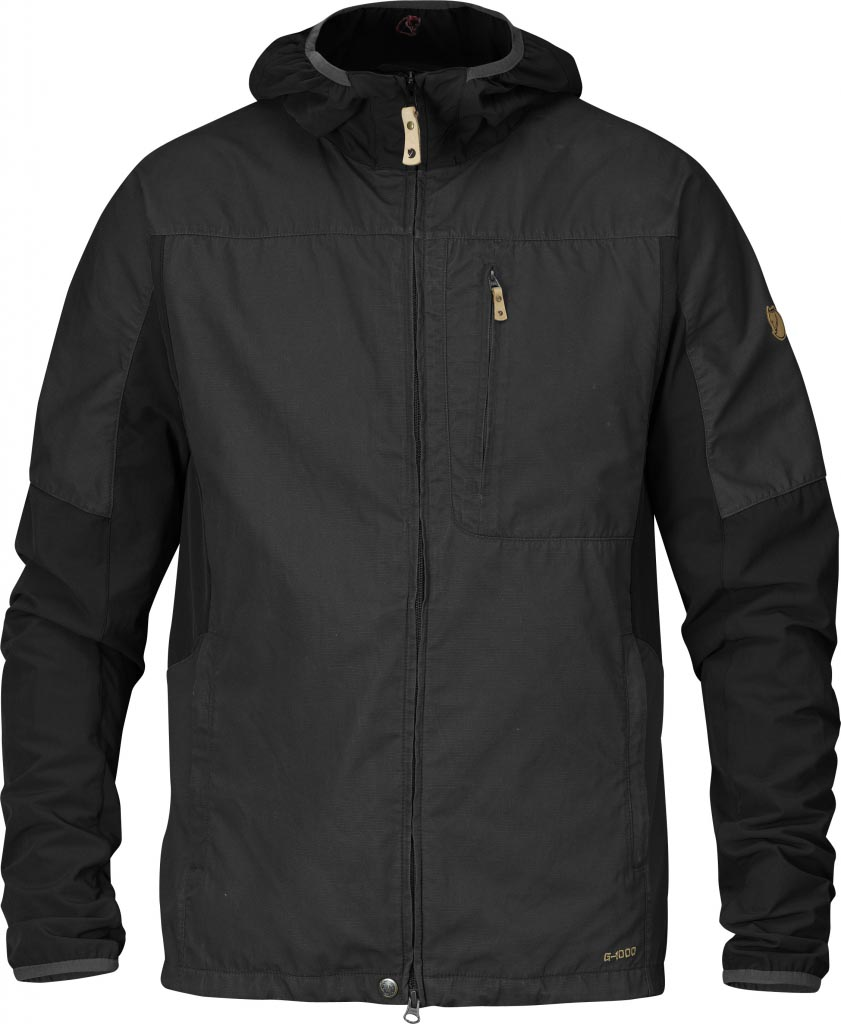 FjallRaven Abisko Jacket Black-30