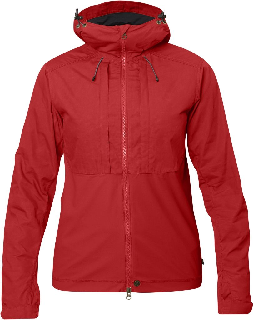 FjallRaven Abisko Lite Jacket W Red-30
