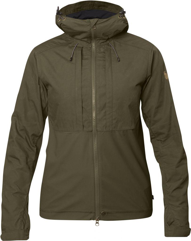 FjallRaven Abisko Lite Jacket W Dark Olive-30