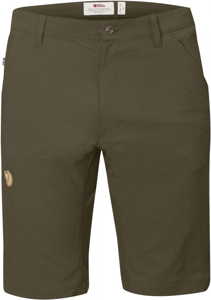 FjallRaven Abisko Lite Shorts Dark Olive-30
