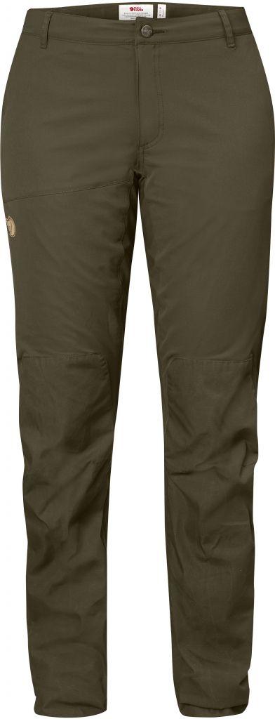 FjallRaven Abisko Lite Trousers W Dark Olive-30