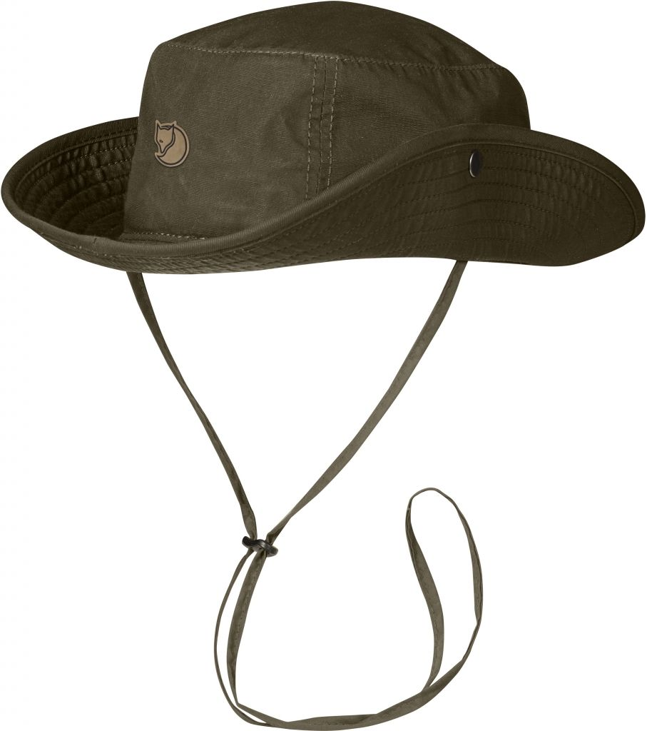 FjallRaven Abisko Summer Hat Dark Olive-30
