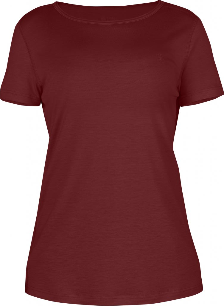 FjallRaven Abisko T-shirt W. Ox Red-30