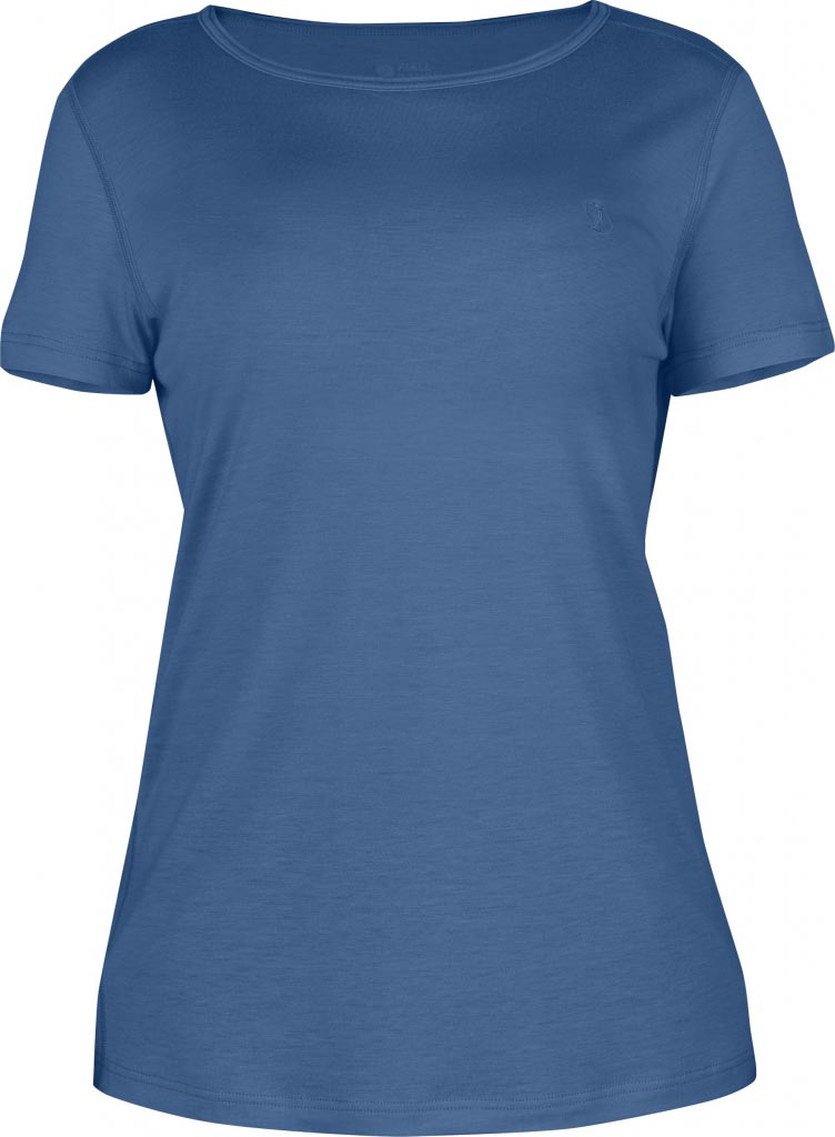 FjallRaven Abisko T-shirt W. Uncle Blue-30