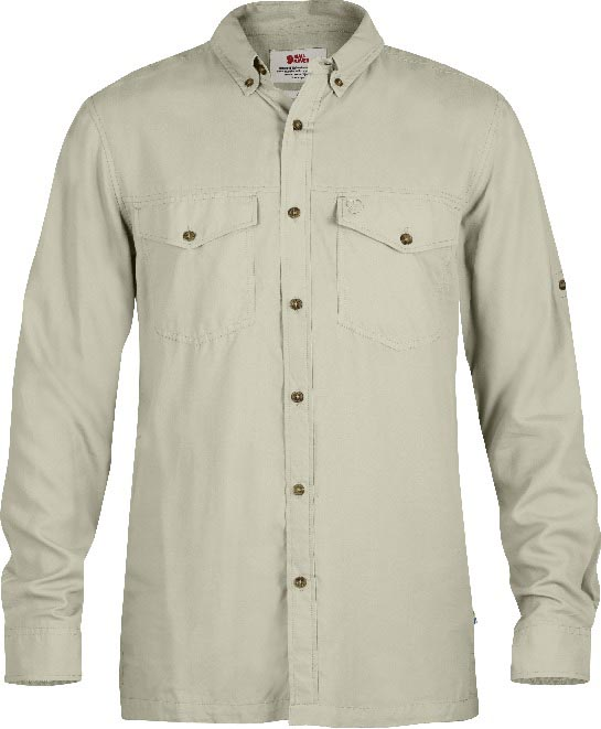FjallRaven Abisko Vent Shirt LS Light Beige-30